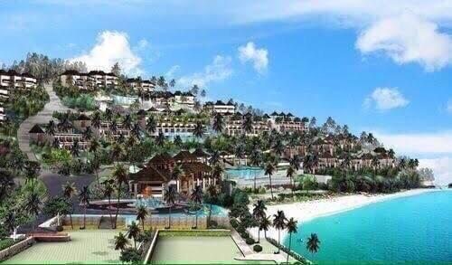 โรงแรมห้าดาว เนื้อที่ประมาณ 34 ไร่ ห้องพัก 257 ห้อง เกาะสิเหร่ 1